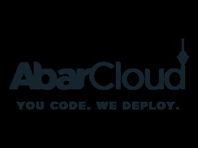 AbarCloud Landscape logo cloud iran branding