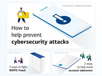 Cybersecurity Awareness Month Ads