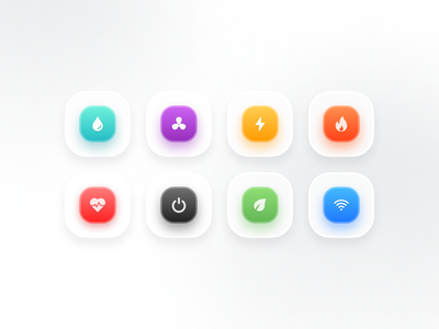 Freebie - Main buttons for mobile apps glossy pack free 3d app clean cta smooth ios mobile app app button ui elements components gradient design ux ui branding button freebie