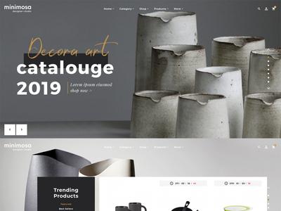 minimosa #04 - art & design studio - eCommerce Responsive Theme