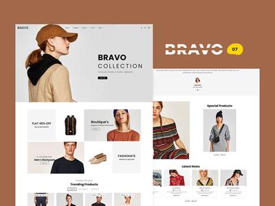 BRAVO – Multi-Purpose Boutique Shop – Prestashop Responsive Them bravo style fashion responsive ecommerce shopify woocommerce prestashop wordpress opencart templatetrip