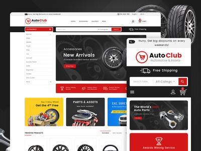 Auto Club – Automotive & Assets – Prestashop Responsive Theme auto club car parts art design responsive ecommerce shopify woocommerce prestashop wordpress opencart templatetrip