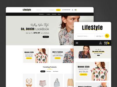 Life Style – Fashion Apparels – Prestashop Responsive Theme art design style fashion responsive ecommerce shopify woocommerce prestashop wordpress opencart templatetrip