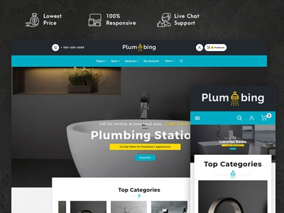Plumbing – Hardware & Apparatuses – Prestashop Responsive Theme art design style fashion responsive ecommerce shopify woocommerce prestashop wordpress opencart templatetrip