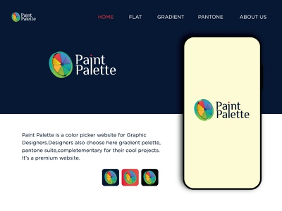 Color Picker Web Logo Design paintingbusiness colorswatch paintingcompany gradient pantone artist painting moodboard website company graphicdesign uiux ux colorpalette art design color colourpalette logo design branding