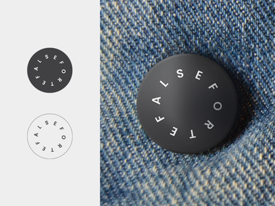 Button Concept branding concept typography type fashion button