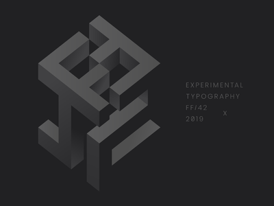 FF42 - Experimental Typography typography