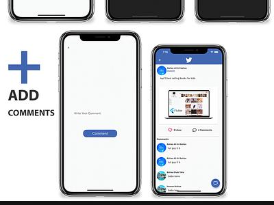 Flutter Social Media App with Dashboard animation 2d android career design android app illustration logo careem ios flutter