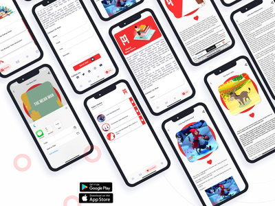 Flutter WordPress Clone App android ios theme design wordpress envato themeforest flutter
