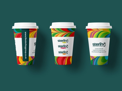 Paper Coffee Cup Design beverage colourful fun graphic design cups drink packagingdesign packaging coffee coffee cup bright illustration branding design