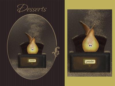 Pear / dessert