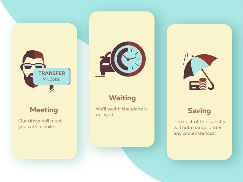 Icons for the site or application mobile web web design webdesign new ux ui car transport transfer icons set icons blue dribbble illustrator illustration