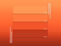 Oregon Fires Palette 02 - Impending Sunset oregon color palette print branding vector illustrator graphic design design