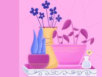 Flower Shelve