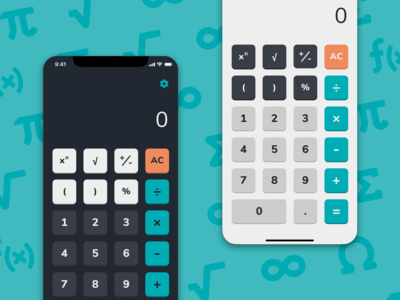 Daily UI - Day 04: Calculator