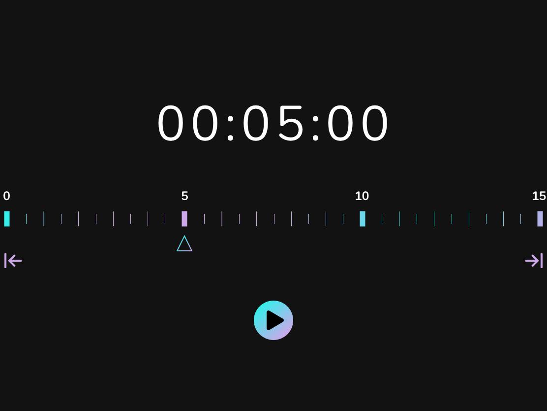 #DailyUI - Day 14: Countdown Timer ui design