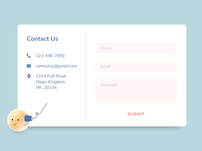 #DailyUI - Day 28: Contact Us