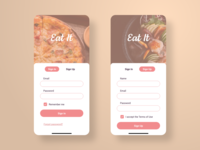 Daily UI Day 001 - Food App