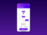Daily UI Day 004 - Loan Calculator