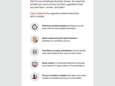 New features email design ui ux design graphic email