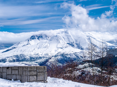 Mt. St. Helens pentaphoto photography