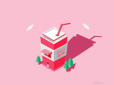 2.5D  Coke House