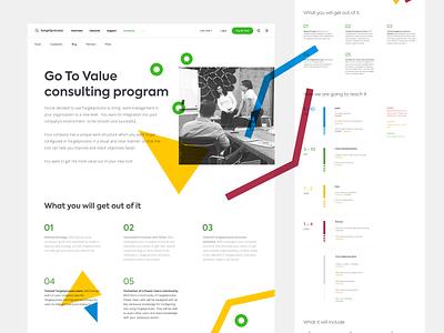 Go To Value ui web website illustration kanban agile targetprocess