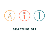Drafting Set Icons