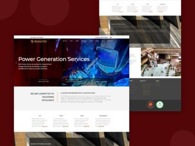 Regional Utility Serivices Website Design