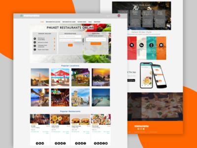 MenuVenu Website Design