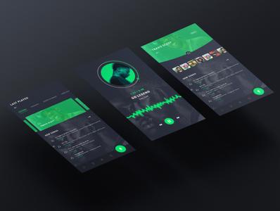 Audio player app design