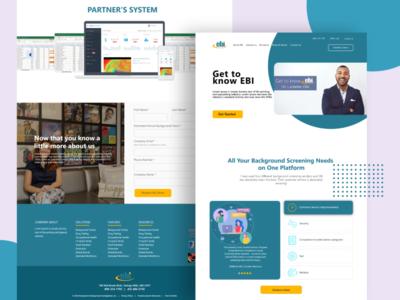 EBI website design