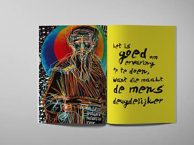 book 02 typography illustration graphic design
