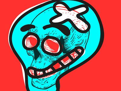 Skull me 1 branding illustration graphic design