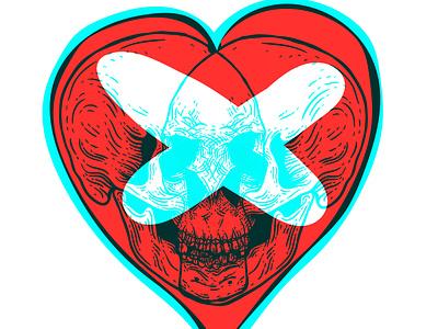 Skull me branding illustration graphic design