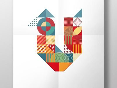 poster NIKOLAAS letters 08 typography illustration graphic design