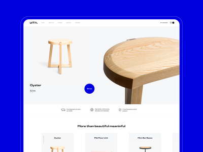 This is UTIL designer luxury furniture online store ux branding ecommerce design ecommerce duall portugal minimalistic design clean ui