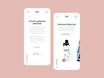 Kiki Poke Bar Mobile
