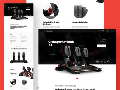 Fanatec Ecommerce Store Website