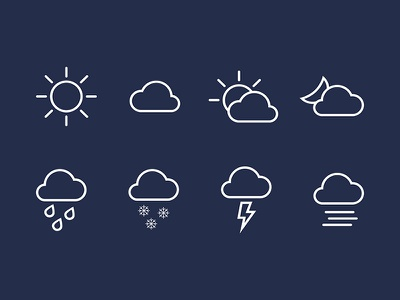 Weather Icon icon weather