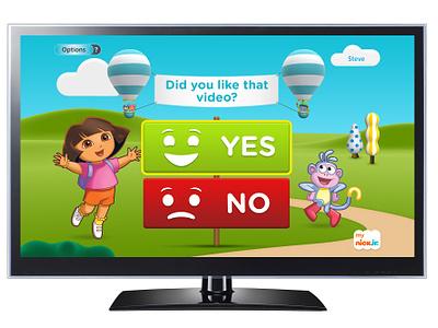 My Nick Jr. TV on Verizon FiOS tv nickelodeon interface