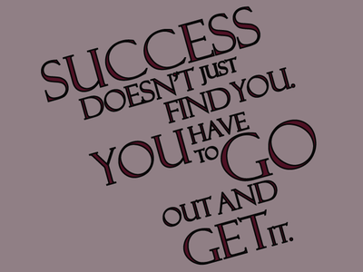 Success Quote Typography