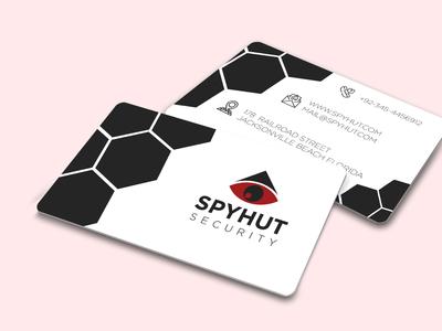 Creative Spyhut Business Card Design