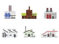 industries flat illustration