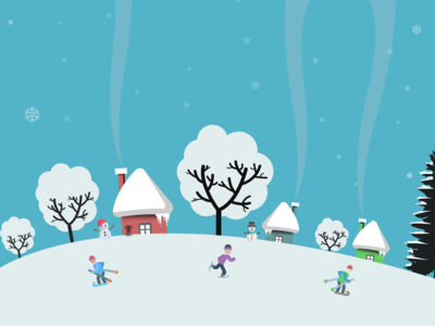 winter is Love Illustration