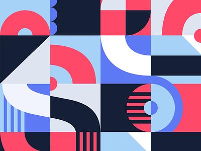 Stripes Pattern background design pattern vector illustraion