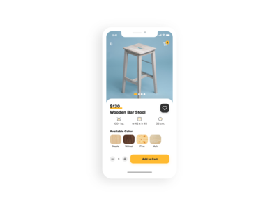 E-Commerce Shop (Single Item) - Daily UI #012
