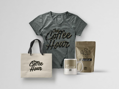Coffee Shop Branding logo typography design package design swag merchandise design logo design brand identity coffee shop branding