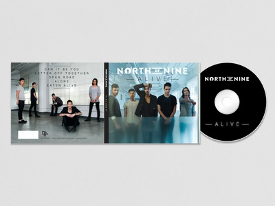 North of Nine EP Artwork design artwork bands ep art album art branding music album artwork