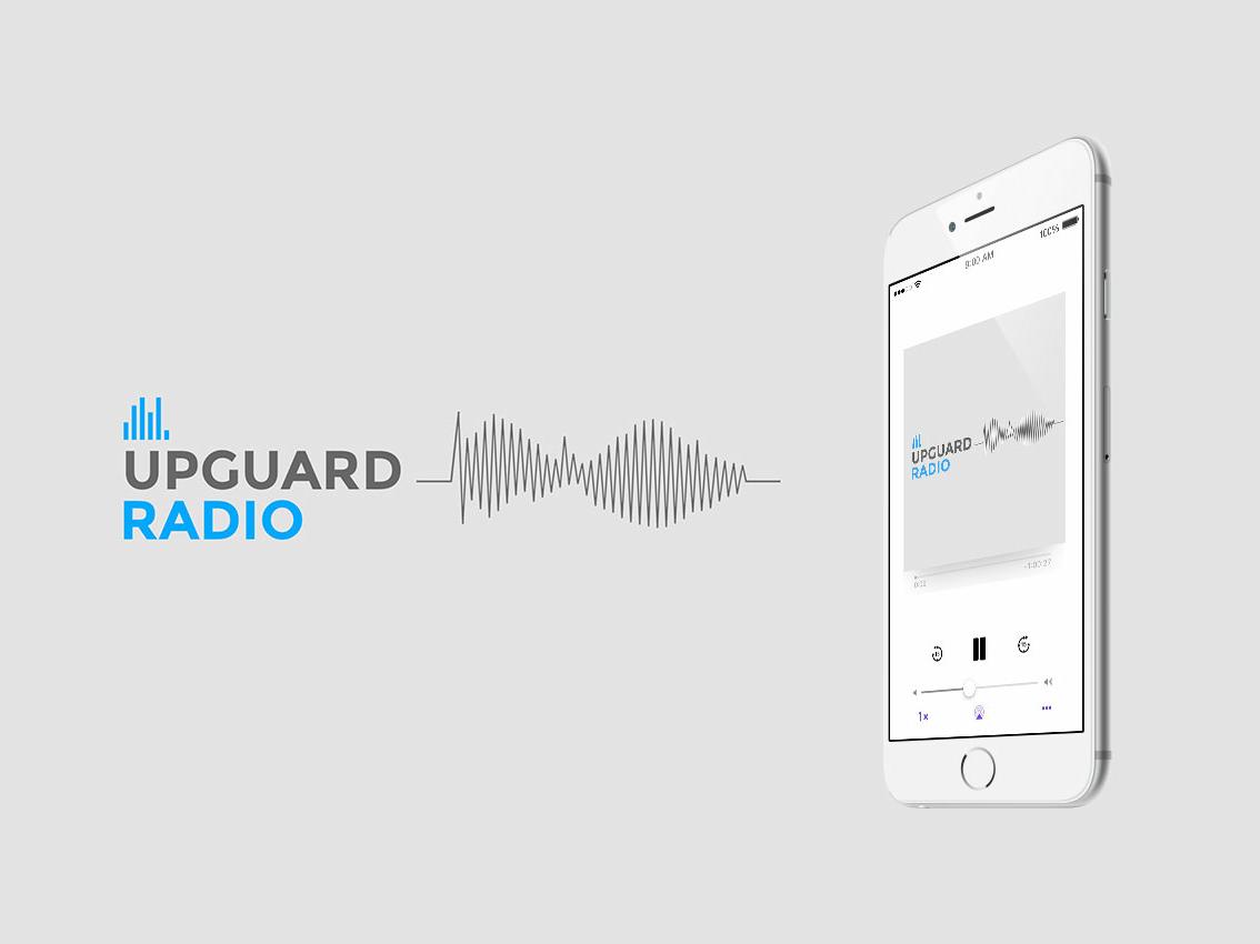 Upguard radio behancecover
